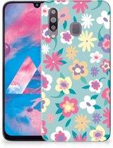 Samsung Galaxy M30 TPU Case Flower Power