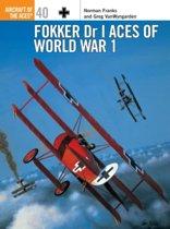 Fokker Dr 1 Aces of World War I