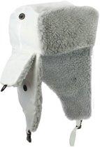 Noorse Muts - Ice Hat - Warme Winterkleding - Kleur Wit - Wintermuts Tegen De Kou