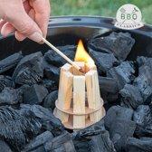 BBQ Classics Houten aanmaakblokjes voor Barbecues (1 set)