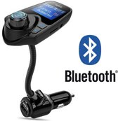 Bluetooth 5-in-1 Auto Carkit MP3 Speler / FM transmitter / LED Display / Handsfree bellen / 2 x High Speed USB Oplader - Geweldige Geluidskwaliteit Stereo audio Output