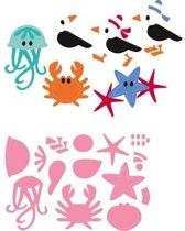 Marianne Design Collectables Eline's Stranddieren