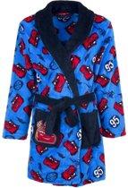 Cars fleece badjas blauw voor jongens 104