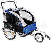 Fietskar X-tract Kinder TJ-2 grijs/blauw BUGGY MODEL