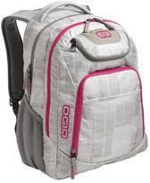 Ogio Business Excelsior Rugzak - Wit/Paars