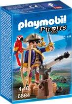PLAYMOBIL Piratenkapitein Eénoog - 6684