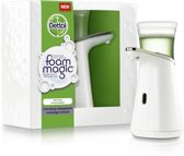 Dettol Foam Magic Automatische Zeepdispenser -  Incl. Aloë Vera Navulling - 200 ml