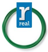 10m High-quality PETG 3D-pen Filament van Real Filament kleur groen