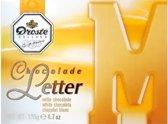 Droste Chocoladeletter Wit - Letter S - 8 x 135 gram