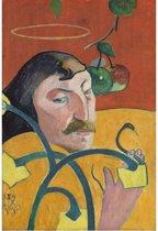 Paul Gauguin : Self Portrait (1889) Canvas Print