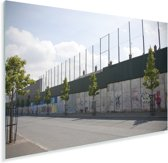 Belfast wall bekend als The Peace Lines Plexiglas 60x40 cm - Foto print op Glas (Plexiglas wanddecoratie)