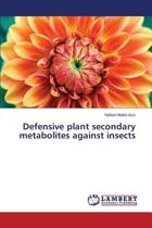 Defensive Plant Secondary Metabolites Against Insects
