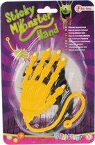 Toi-toys Kleverige Monster Plakhand 10 Cm Geel