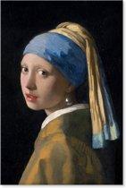 Canvas Schilderij Meisje met de parel - Johannes Vermeer