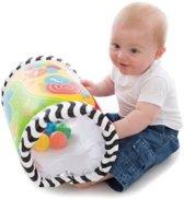 Playgro - Baby roller - Tumble Jungle Musical Peek in Roller - Leuke babyroller met ratelende balletjes.