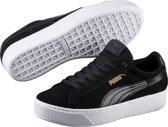 PUMA Vikky Platform Sneakers Dames - Black-White - Maat 37