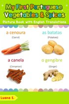 My First Portuguese Vegetables & Spices Picture Book with English Translations