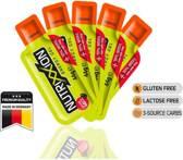 Nutrixxion gel sinaasappel cafeine citroen 44 gram bundel 5 stuks