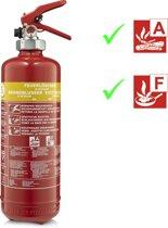 Title: Smartwares FEX-15420 Vetbrandblusser 2 liter vetbrandblusser klasse A-F VB2