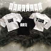 Shirtjes Drieling we are two