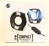 Trust Urban Compact 2.0 Speakerset for Laptop and PC Black/White