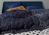 Auping sprei Revival blue - 180x260 cm