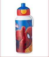 Spiderman Pop-up beker, in cadeauverpakking met gekleurd lint