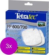 Tetra Tec Ex Ff Filtervlies - Filtermateriaal - 3 x 2 stuks 400-600