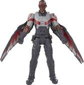 Marvel Avengers Falcon Elektronisch actiefiguur - Titan Hero 30 cm