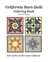 California Barn Quilt Coloring Book