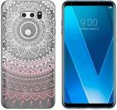 MP Case TPU case Mandala print voor LG V30 -Achterkant / backcover
