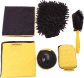Dunlop Schoonmaakset 6-delig Zwart/geel