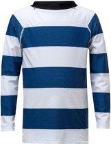 Snapper Rock Jongens UV-zwemshirt  - Blauw / Wit - Maat 116-122