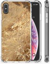iPhone X | Xs TPU-Siliconen Hoesje Design Marmer