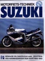 Suzuki gsx 600/750/1100