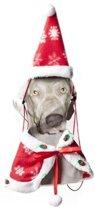 Kerstkleding - Cape en Kerstmuts Hond