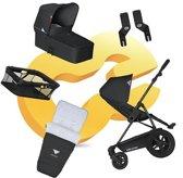 Koelstra Binque Daily PACK - Kinderwagenset - Zwart