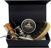 Luxe baard verzorging set - baard set - baardolie - baardbalsem - cadeau man - baardborstel - barber set - Baardgroei - Baardverzorging