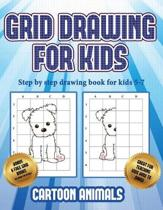 Step by Step Drawing Book for Kids 5 -7 (Learn to Draw Cartoon Animals)