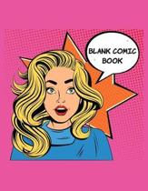 Blank Comic Book: Blank Comic Book Gift to draw your Own Comic - For Kids, Girls to Create Your Own Comic