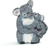 Vrouwelijke Koala Beer Met Baby Koala