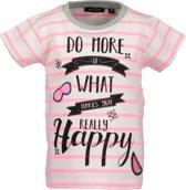 Blue Seven Meisjes T-shirt - wit - Maat 98