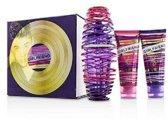 Justin Bieber's Girlfriend - 100 ml Eau de Parfum + 100 ml Body Lotion + 100 ml Douchegel - Geschenkset