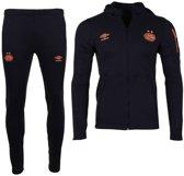 PSV Fleece Trainingspak Black