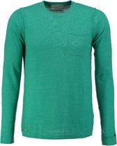 Cast iron groene trui valt kleiner - Maat XL