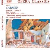 Bizet: Carmen / Rahbari, Czecho-Slovak Radio SO
