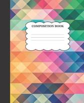 Multi-Colored Composition Book