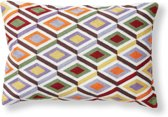 Kave Home Tahoma - Kussen - Multicolor stof - 50x30 cm