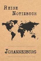 Reise Notizbuch Johannesburg