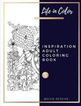 INSPIRATION ADULT COLORING BOOK (Book 5)